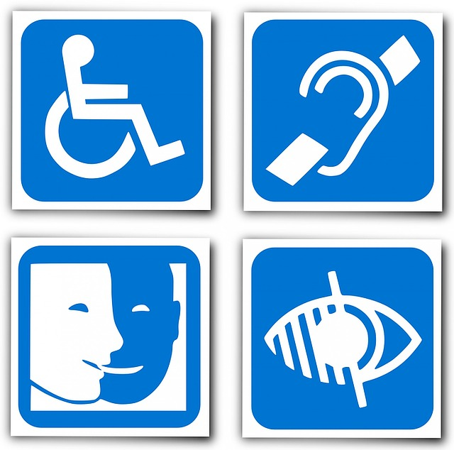 logo handicap pour illustrer la prise en charge psychologique du handicap, afin d'aller vers son acceptation